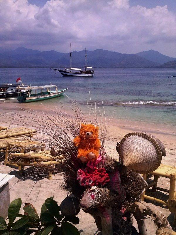 The Adventure of Teddy Panda in Gili Trawangan (4/6)