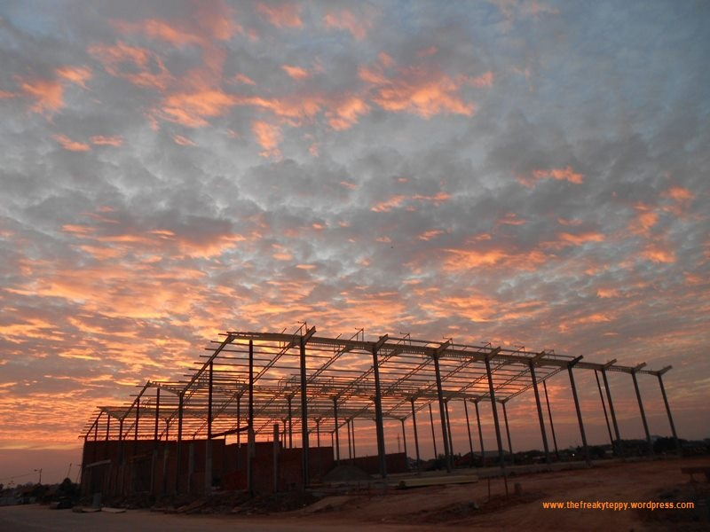 Sunset at the Warehouse (1/2)
