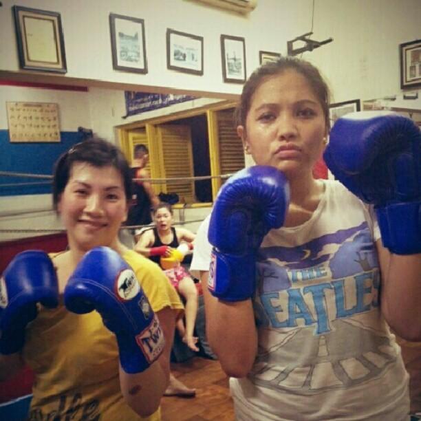 Dibantai Muay Thai! (3/6)
