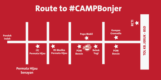 MAP to CAMPBonjer