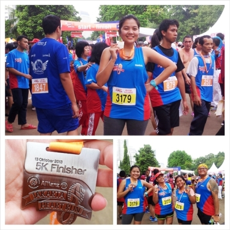 Allianz Jakarta Heart Run