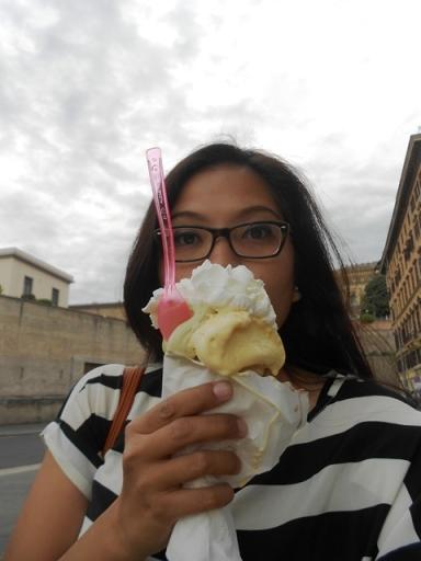 Gelato in Roma