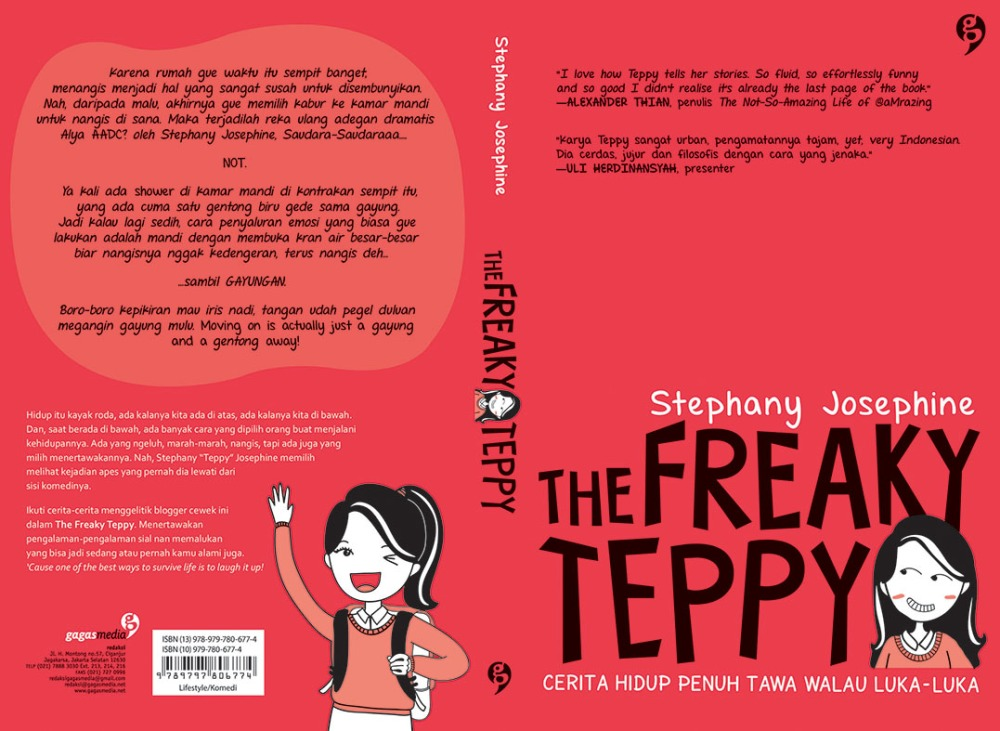 The Freaky Teppy: THE STORY BEHIND THE BOOK (1/2)