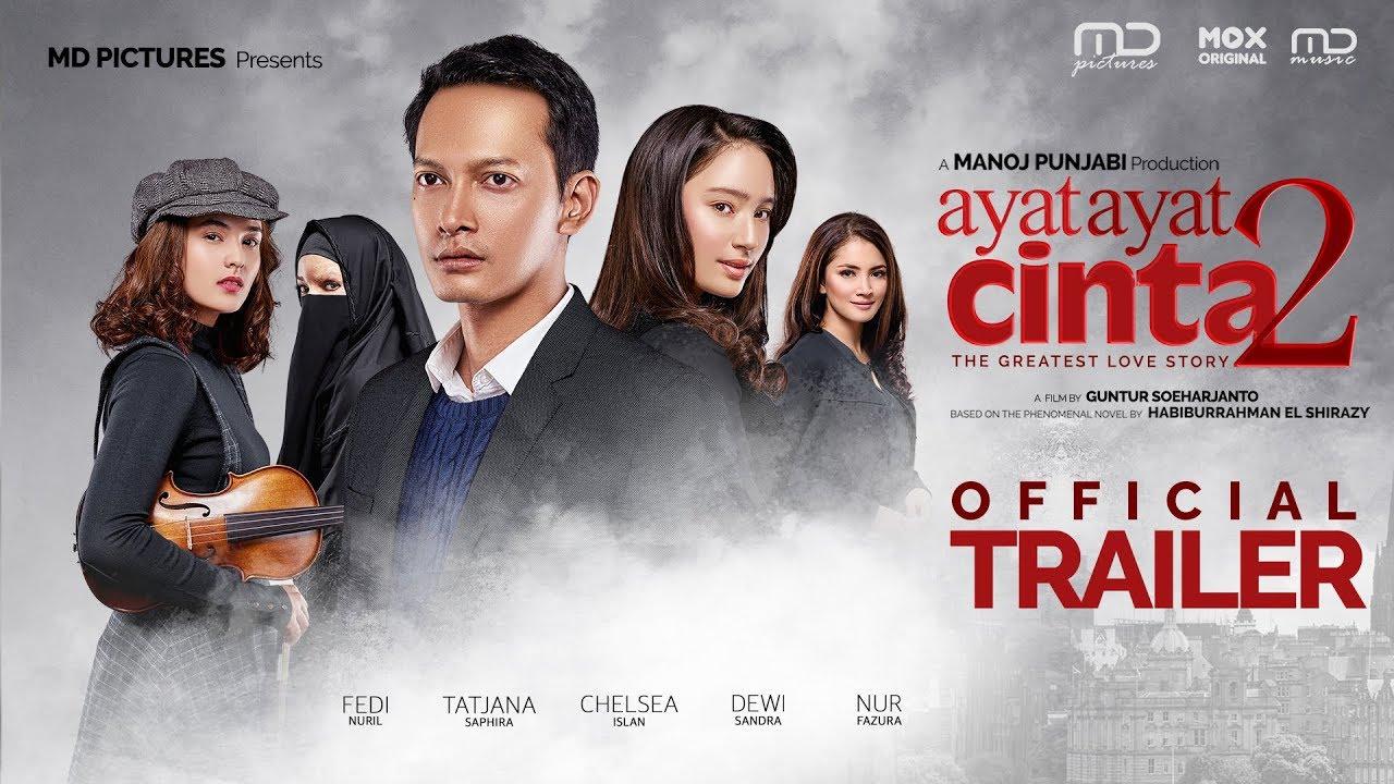 Movie Review Suka Suka Ayat Ayat Cinta 2 Spoiler Semua Teppy And Her Other Sides