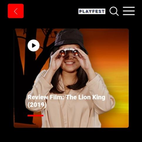 TOM - Lion King