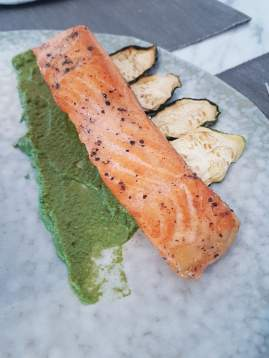 Fresh Pan Fried Norwegian Salmon (1)