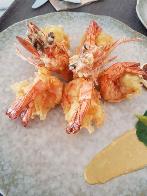 Warren's Tempura Tiger Prawns - 90k